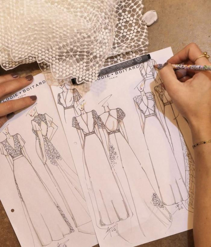 creatrice robe de marine paris, Mélodie Boitard